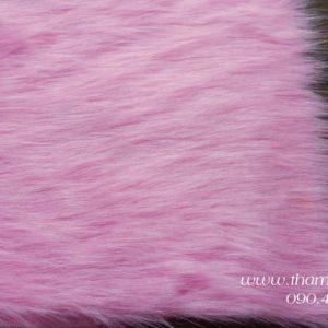 Thảm lông màu Hồng phấn 1mx1.6m - Màu sắc cực dễ thương chuyên trong chụp ảnh mỹ phẩm, trải bàn phấn