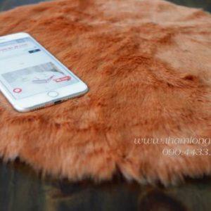 Thảm lông ngắn màu nâu 1*1,6m- Lông mịn siêu cấp dày dặn chuyên trong chụp ảnh, trang trí