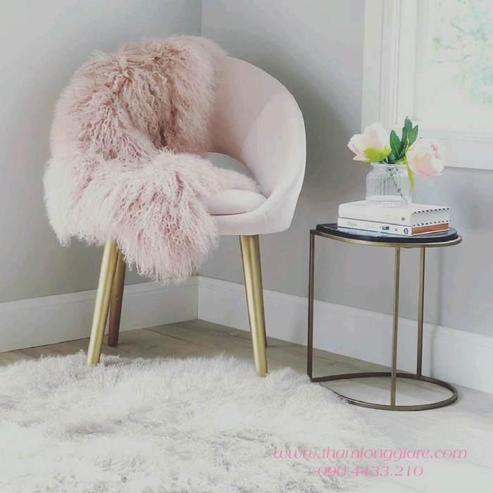 Ý tưởng trang trí không gian phòng đọc sách bằng vải lông thú