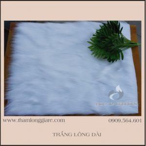 Thảm Lông Màu Trắng 40x50cm - size nhỏ chuyên dùng chụp ảnh mỹ phẩm, phụ kiện, trang trí