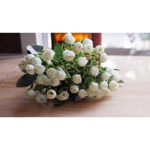 Chùm hoa hồng bi (nụ) trang trí, chụp ảnh